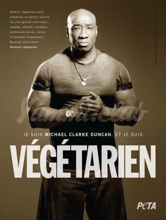 На фото Звезда фильма «Зеленая миля» за вегетарианство