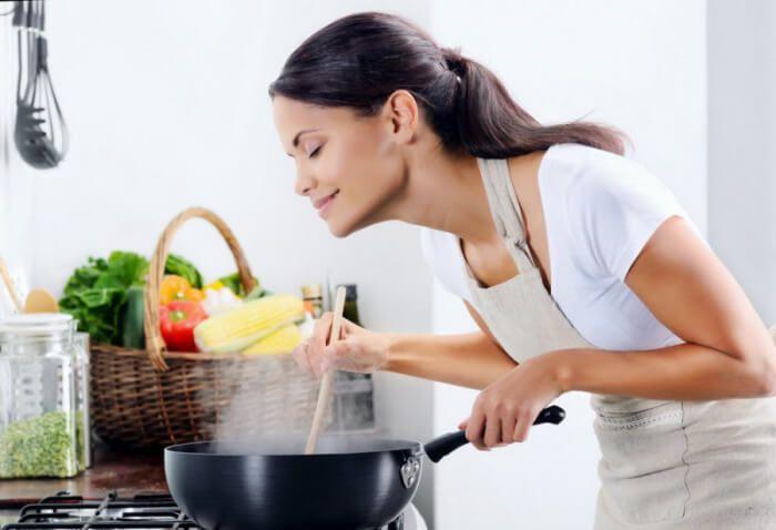 На фото Кулинарные хитрости, которые сделают пищу полезнее