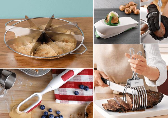 На фото 30 гениальных изобретений для кухни, которые сделают готовку проще