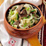 Рецепт Картофельный салат с маринованными грибами