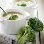 Рецепт Суп из брокколи с рисом