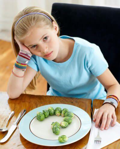 На фото Веганское питание для малыша, склонного к аллергии