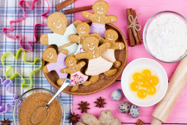 Имбирное печенье от Джейми Оливера ~ Домашние рецепты