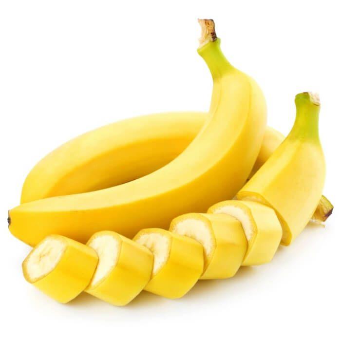 На фото Банан — плод мудрости богатый витамином В6