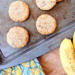 Рецепт Банановое печенье с кокосовой стружкой
