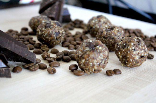На фото Кофейные конфеты