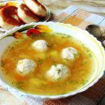 Рецепт Супчик с чечевицей и фрикадельками