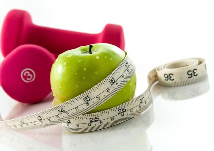 На фото Яблочная диета или как похудеть на 7 килограмм за 7 дней