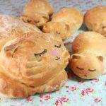Хлеб для любителей котиков