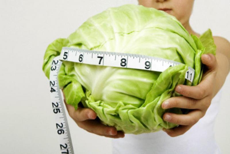 Сбросить вес на капусте