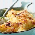 Рецепт Картофельное пюре сзапеченной треской