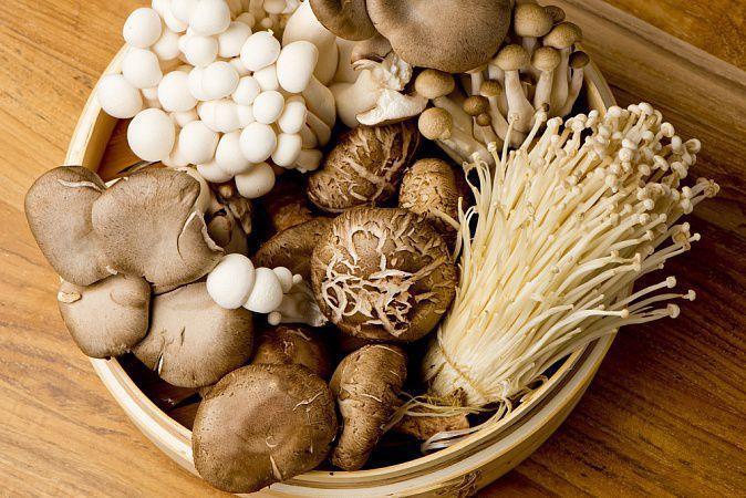 На фото Включите грибы в свой рацион