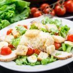 Рецепт Салат «Цезарь» с курицей
