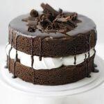 Рецепт Шоколадный торт без муки, сахара и меда