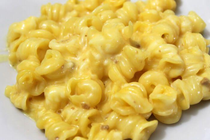 На фото Вкуснейшие макароны ссыром