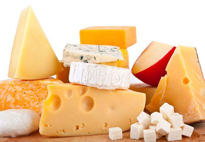 На фото Классификация сыров