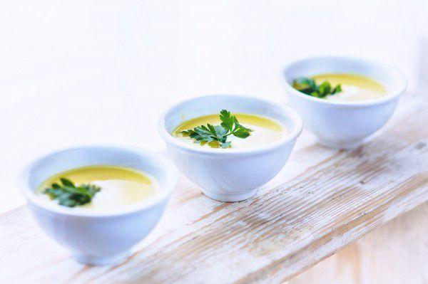 На фото Картофельный суп-пюре