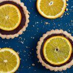 Рецепт Корзинки с шоколадно-апельсиновым кремом