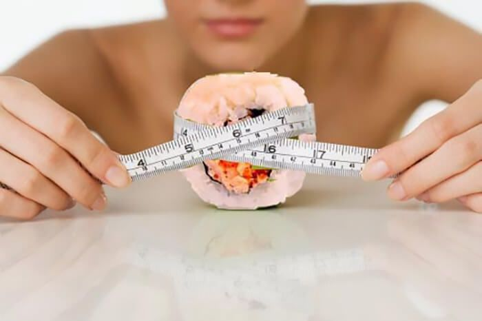 На фото Суши-диета: Польза и принцип действия