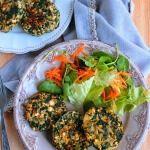 Рецепт Аппетитные и ароматные котлеты из шпината и тофу