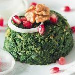 Рецепт Пхали со шпинатом и грецкими орехами