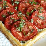 Рецепт Афинский пирог с помидорами и луком