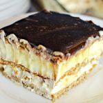Рецепт Нежнейший торт-эклер без выпечки