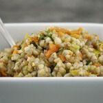 Рецепт Салат с гречкой, морковью и курицей