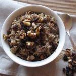Рецепт Сладкая гречневая каша с изюмом и корицей