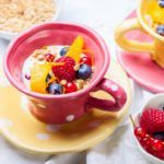 Рецепт Овсянка с фруктами