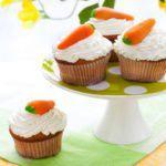 Рецепт Морковные капкейки на Пасху