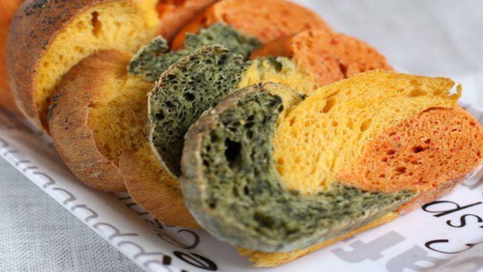 На фото Австралийский овощной хлеб