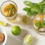Рецепт Безалкогольный мохито с хурмой