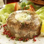 Рецепт Холодец из телятины и куриных потрошков