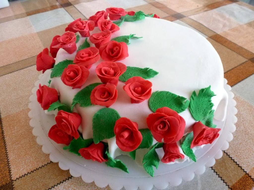 Мастика на торт в домашних условиях картинки