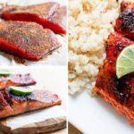 Рецепт Сладкий и пряный лосось