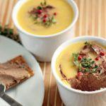 Рецепт Парфе из куриной печени с поджаренным шалфеем