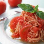 Рецепт Паста с помидорами и базиликом