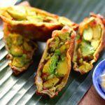 Рецепт Яичный ролл с авокадо и зеленью
