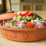 Рецепт Салат с тунцом и кокосовым молоком