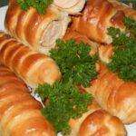 Сосиски в тесте в хлебопечке