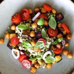 Рецепт Теплый салат с гречкой и нутом