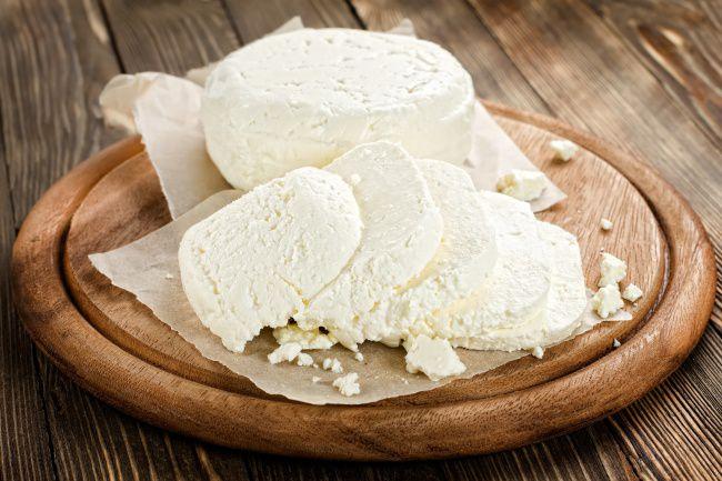 На фото Творожный сыр