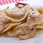 Рецепт Вареники с грибами