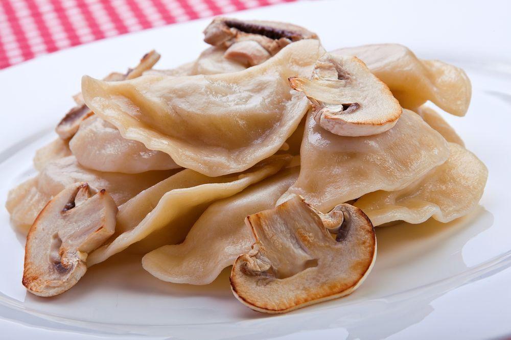 лучших пельмени с грибами и картошкой Москвы Буква Генерала