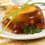 Рецепт Заливное из грибов с яйцом