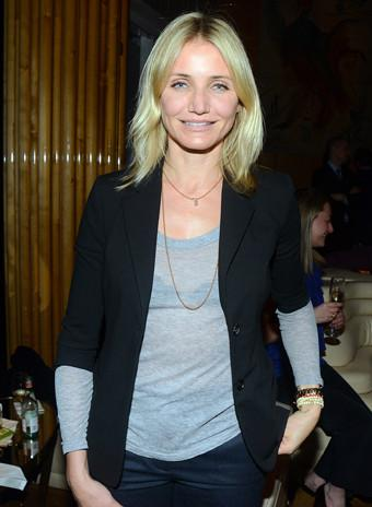 Mandatory Credit: Photo by Carly Otness/BFAnyc.com/REX (2303961b) Cameron Diaz NY Sun Works 5th Annual Greenhouse Project Benefit, New York, America - 22 Apr 2013