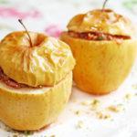 Рецепт Низкокалорийный десерт из яблок