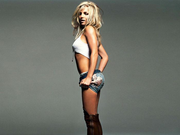 На фото Как худеют звезды: диета Бритни Спирс