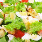 Рецепт Быстрый салат с курицей